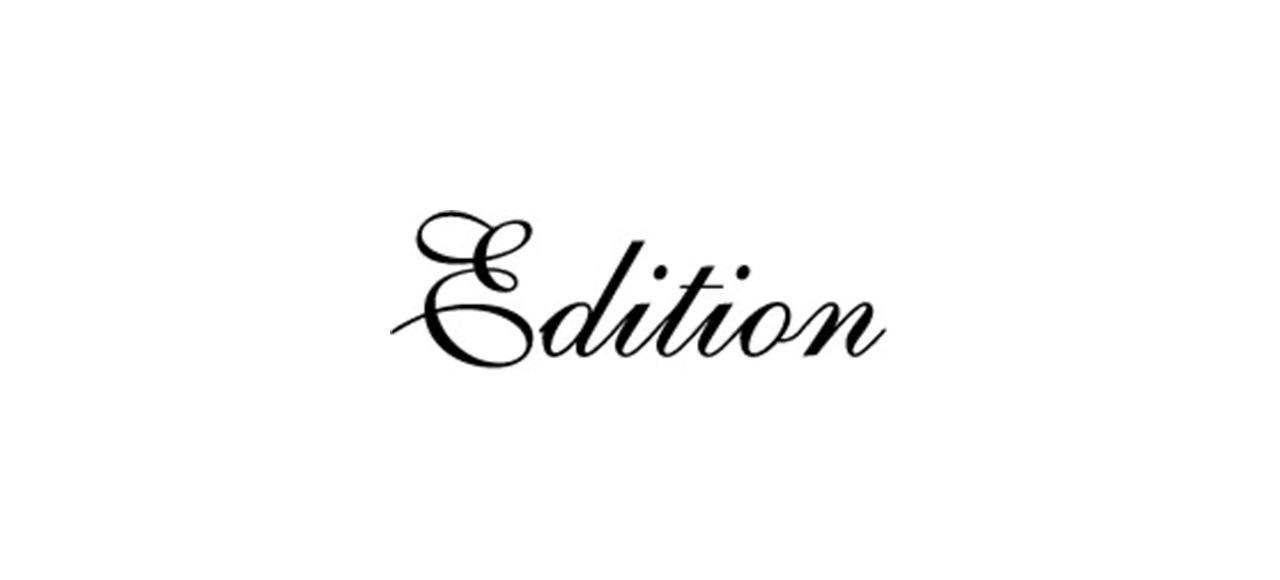 Edition エディション