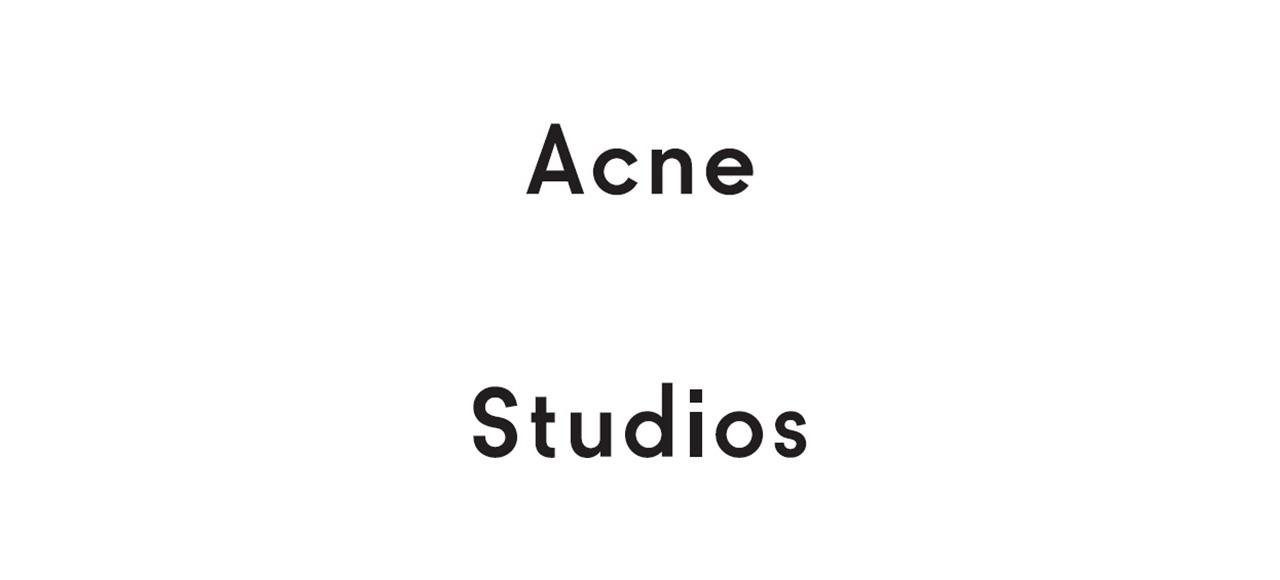 Acne Studios アクネ ストゥディオズ