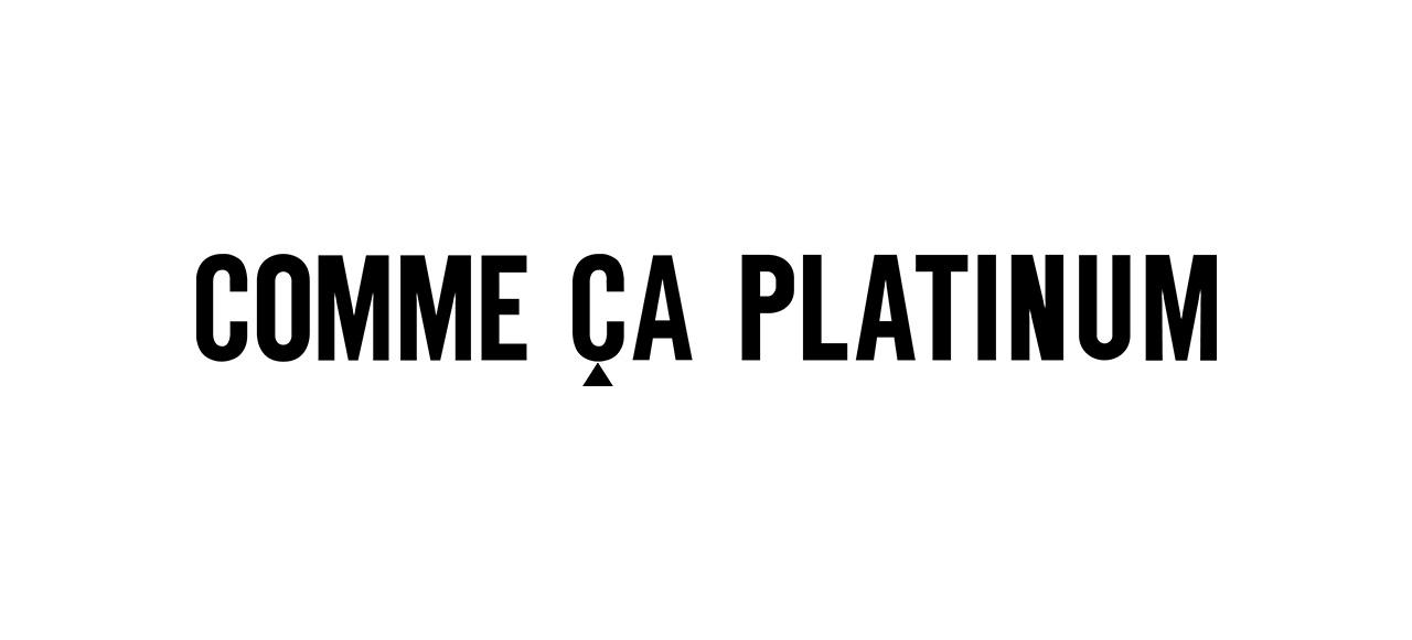COMME CA PLATINUM コムサプラチナ